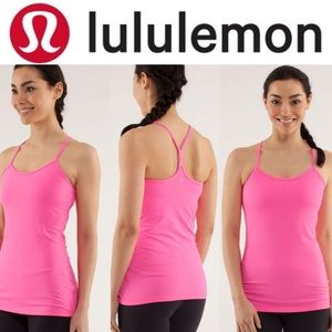 Lululemon Power Y Tank *Luon Light